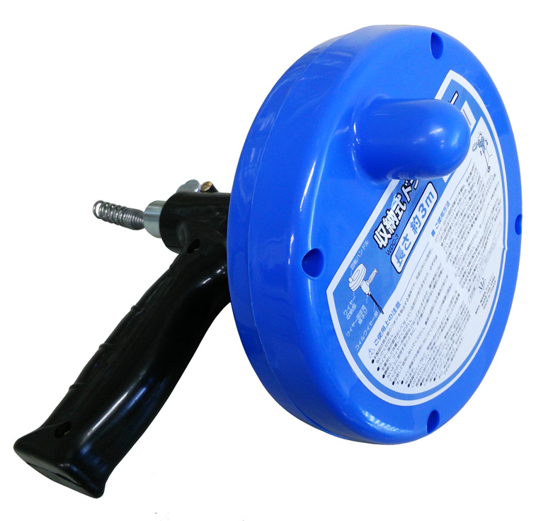 収納式ドラムクリーナー<br /> WDC-3